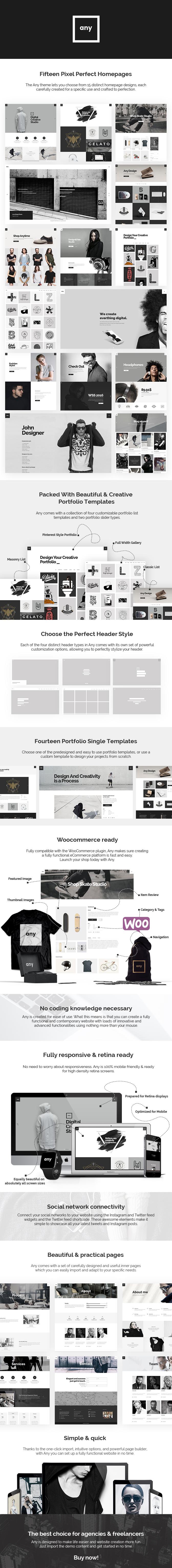 Any - Freelancer Portfolio Theme - 1